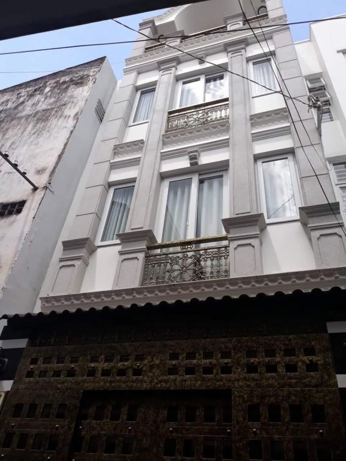 Nhà HXH 4 tầng 52m2 khu vưc đắc địa Phú Nhuận