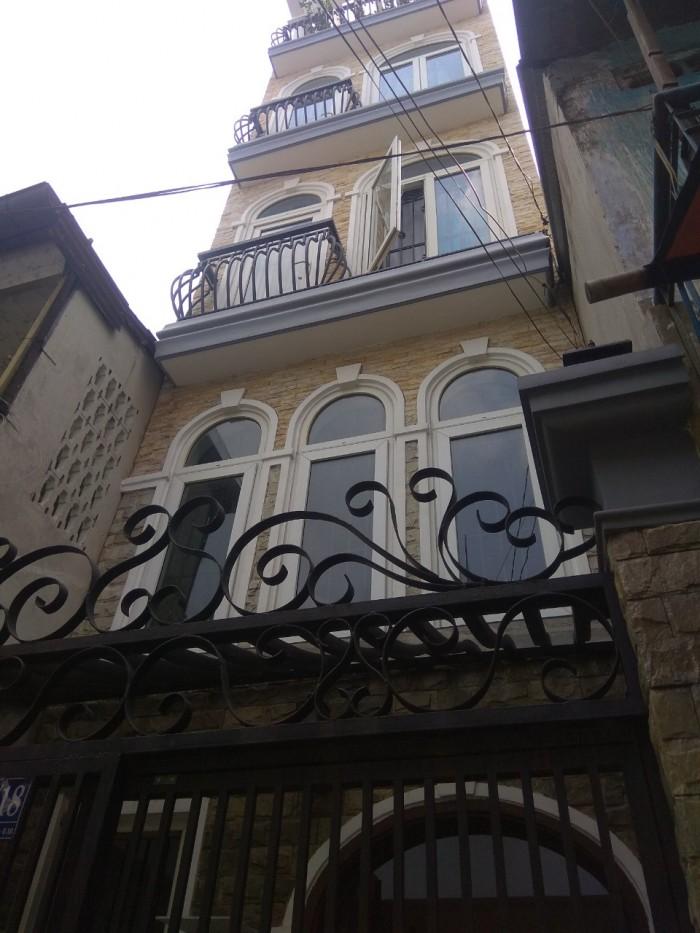 Bán nhà HXH 4 tầng 47m2 Lê Văn Sỹ P.14 Quận 3 nhà đẹp mới