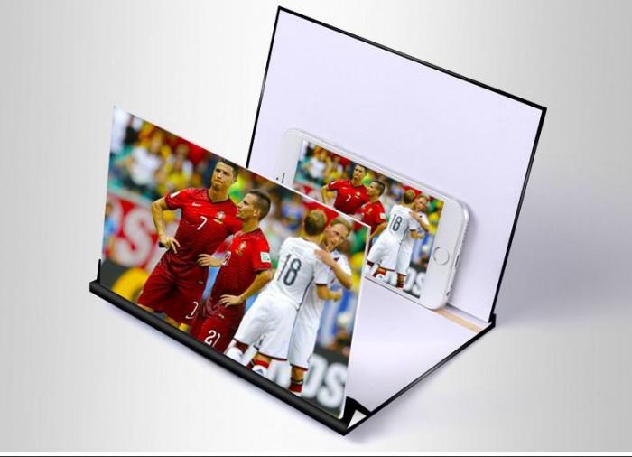 Kính phóng to màn hình điện thoại 4D mẫu 2018 bằng gỗ0