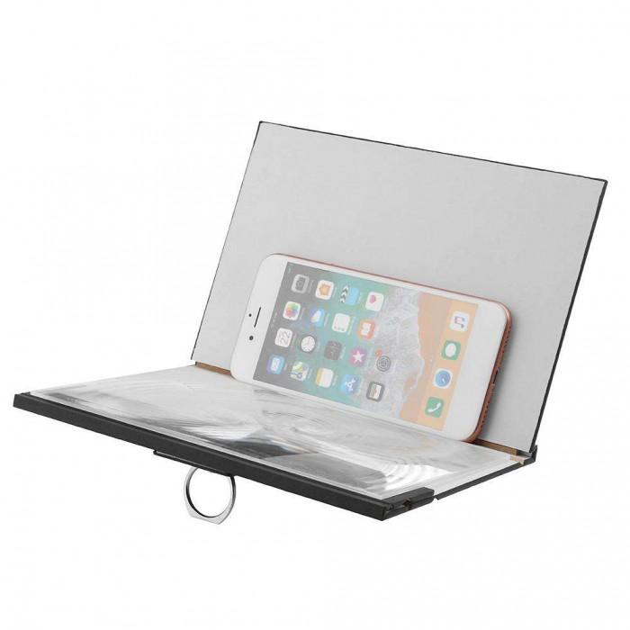 Kính phóng to màn hình điện thoại 4D mẫu 2018 bằng gỗ1