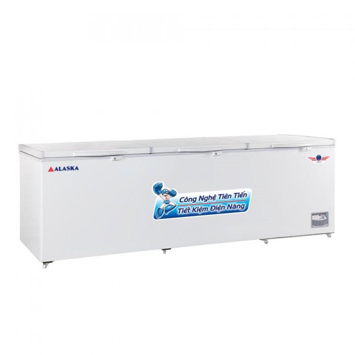 Tủ đông lớn ALASKA 1400L HB-14 3 nắp giỡ0