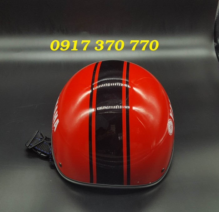 Nón bảo hiểm có in thêm logo thông tin doanh nghiệp26