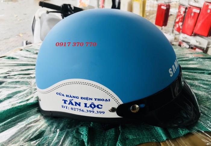 Làm nón bảo hiểm quà tặng - quảng cáo- sự kiện20