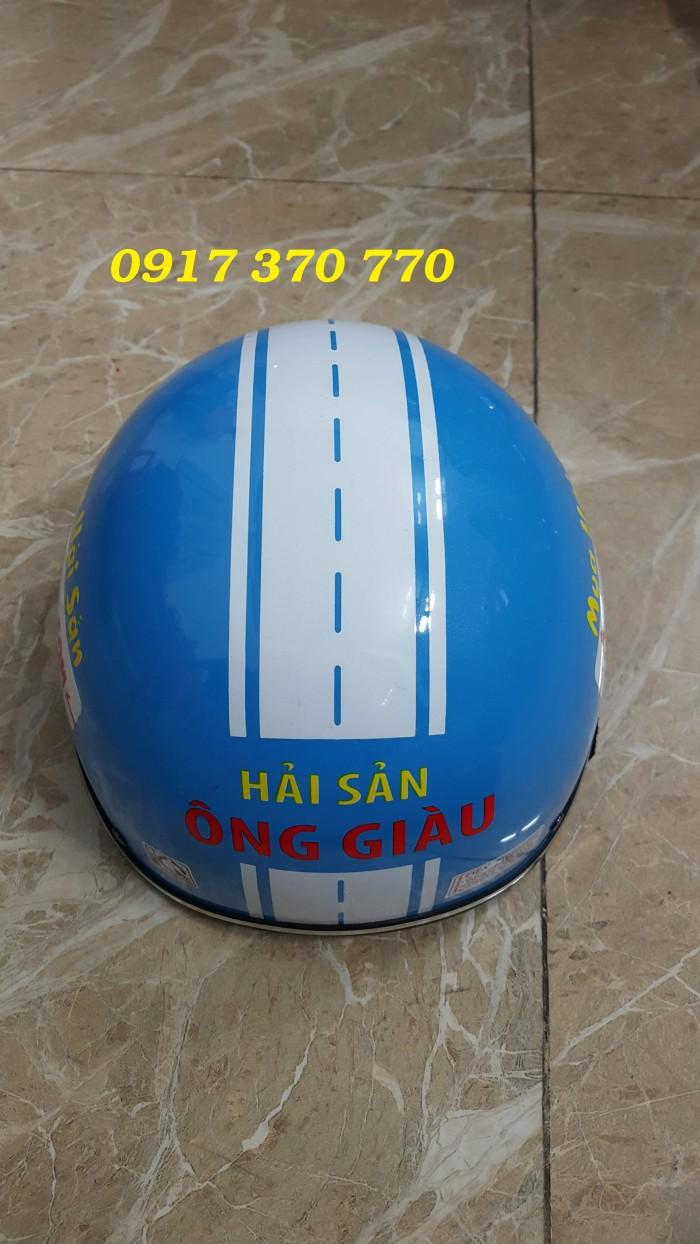 Làm nón bảo hiểm quà tặng - quảng cáo- sự kiện2
