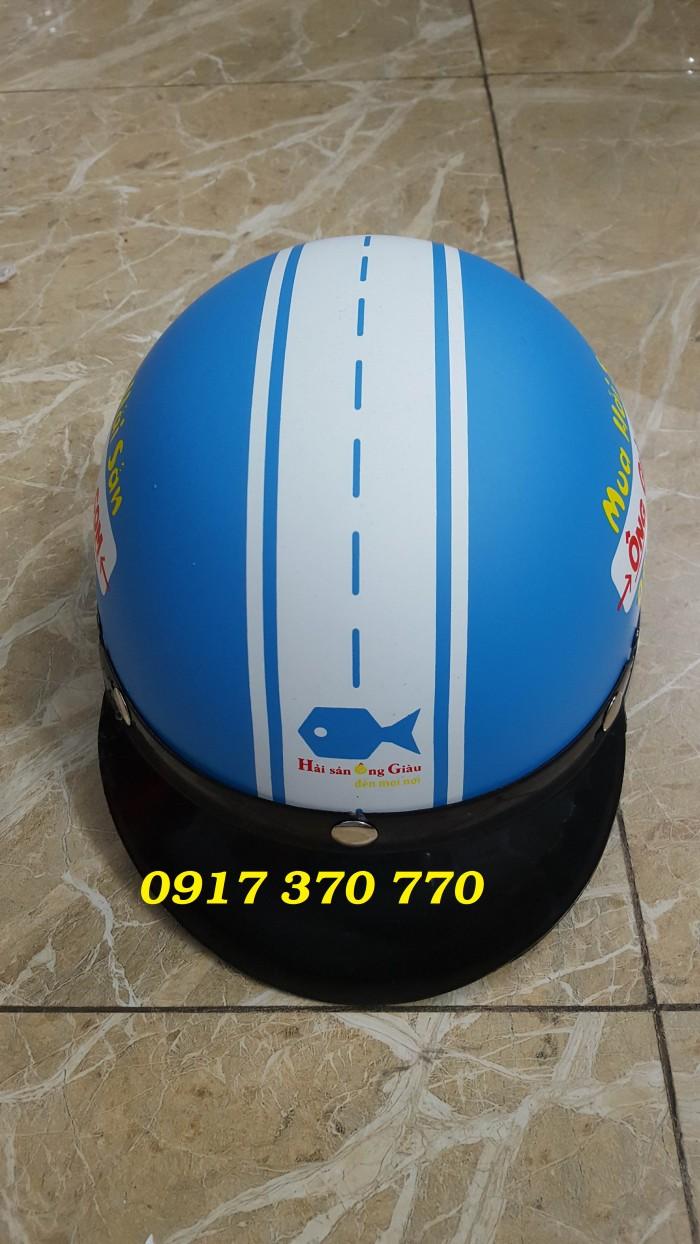 Làm nón bảo hiểm quà tặng - quảng cáo- sự kiện5