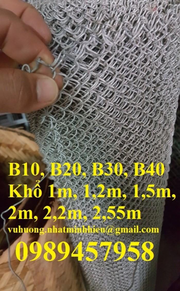Sản xuất lưới B10, B20, B30, B40 mạ kẽm, bọc nhựa tại Hà Nội mới 100%0