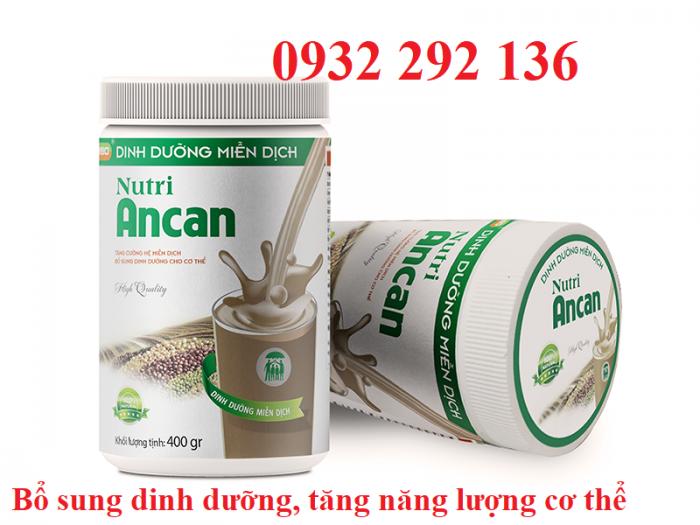 Nutri Ancan dinh dưỡng miễn dịch, tăng cường sức khỏe