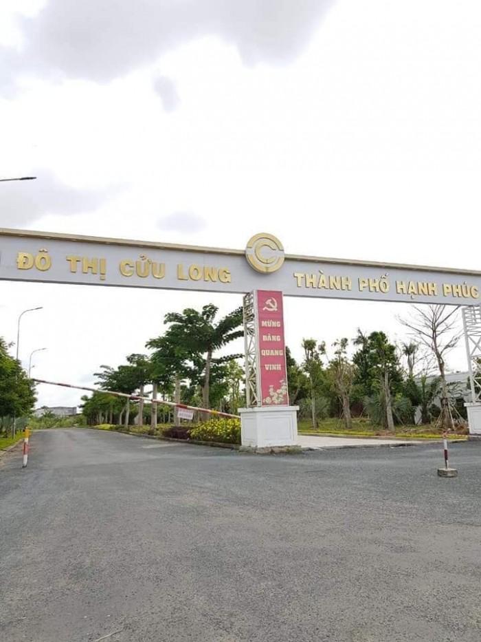 Bán Nền Khu Dân Cư Cửu Long Cạch Chợ Bà Bộ Đường Nguyễn Văn Linh