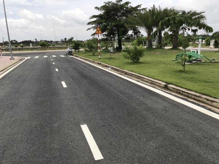 Cần bán đất mặt tiền Trịnh Quang Nghị, xã Phong Phú, Bình Chánh  giá chủ đầu tư giá 850/nền sổ hồng riêng