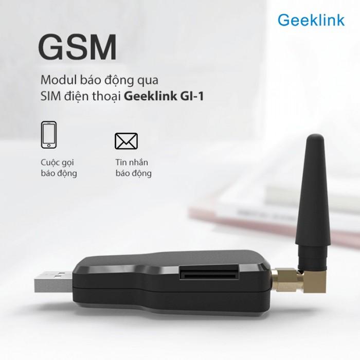 Module báo động qua sim điện thoại GSM Geeklink GI-11