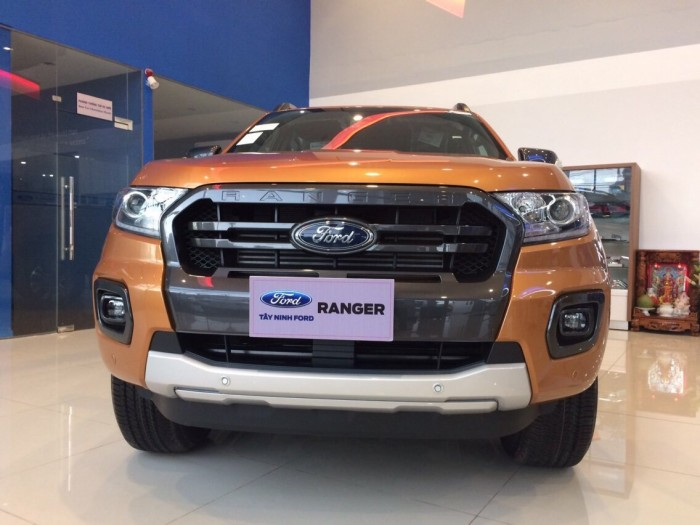 Ford Ranger 2.0 Bi Turbo màu cam - Tặng phụ kiên, giảm giá tiền mặt tại Ford Gia Định, trả trước 200 triệu là có xe ngay 7