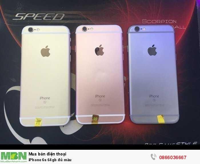 IPhone 6s 64gb đủ màu0
