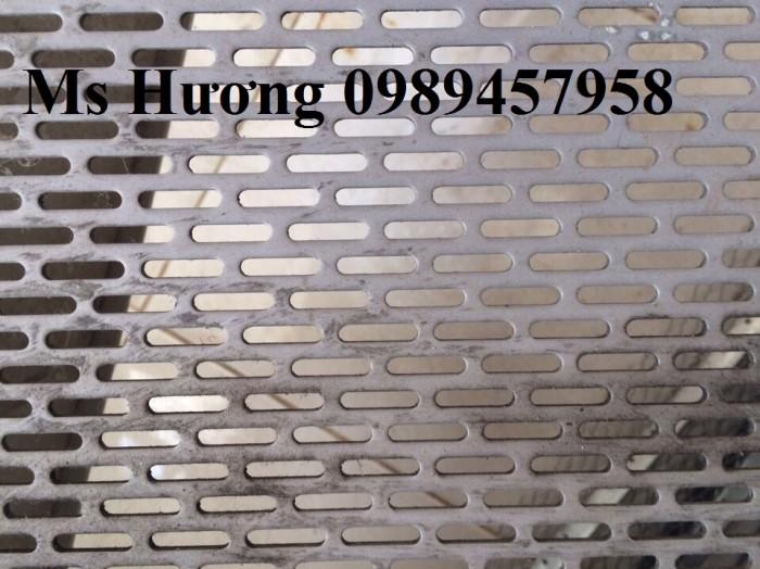 Lưới thép dập lỗ inox 304, Tấm kim loại đột lỗ, Tấm lưới lọc9