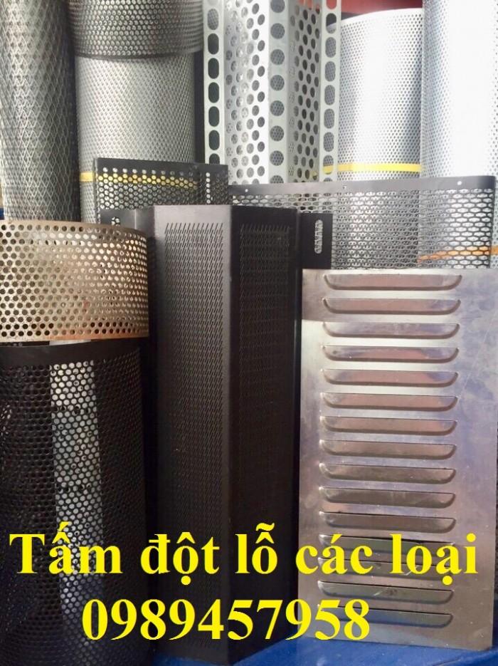 Lưới thép dập lỗ inox 304, Tấm kim loại đột lỗ, Tấm lưới lọc11