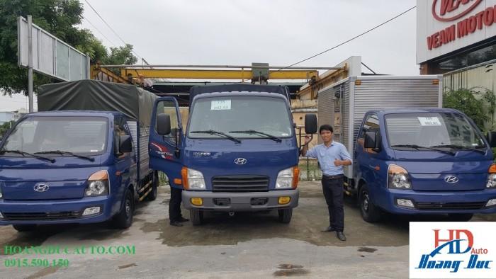 Xe tải Hyundai H150 1,5T nhập nguyên cục