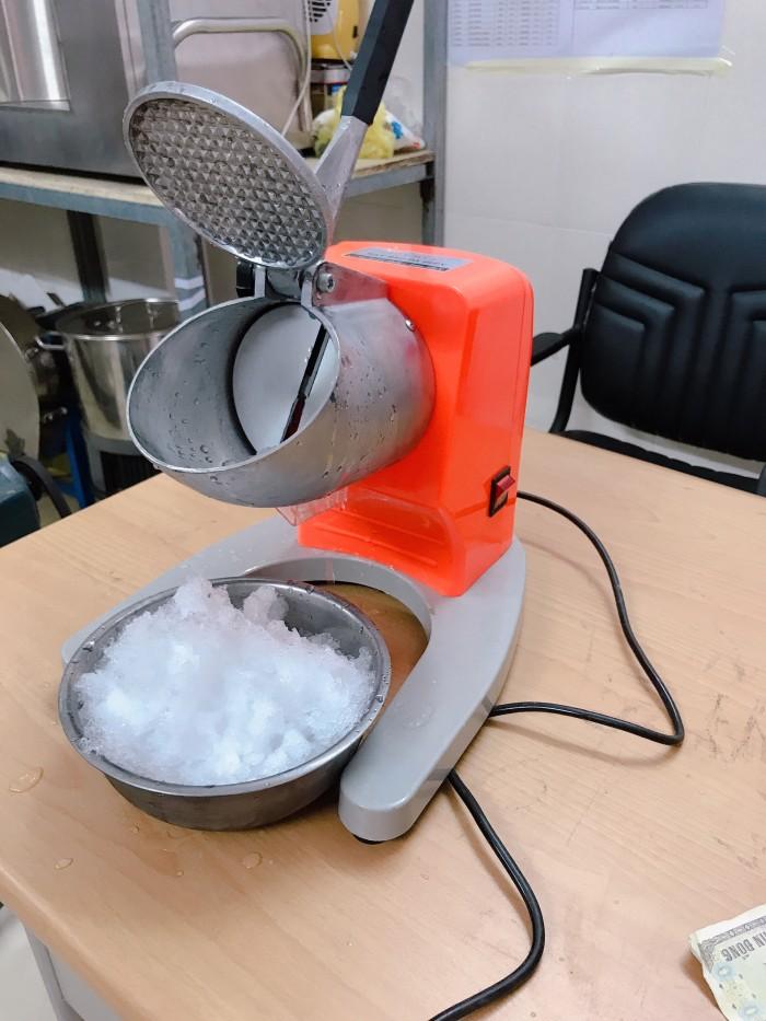 Máy bào đá tuyết - xay nhuyễn đá bào 2 lưỡi0