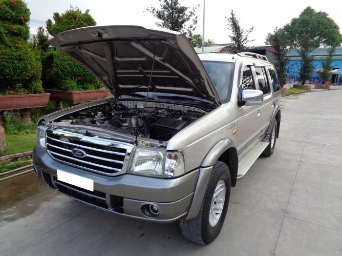 Cần bán xe Ford Everest 2006 máy dầu số sàn, màu xám ghi