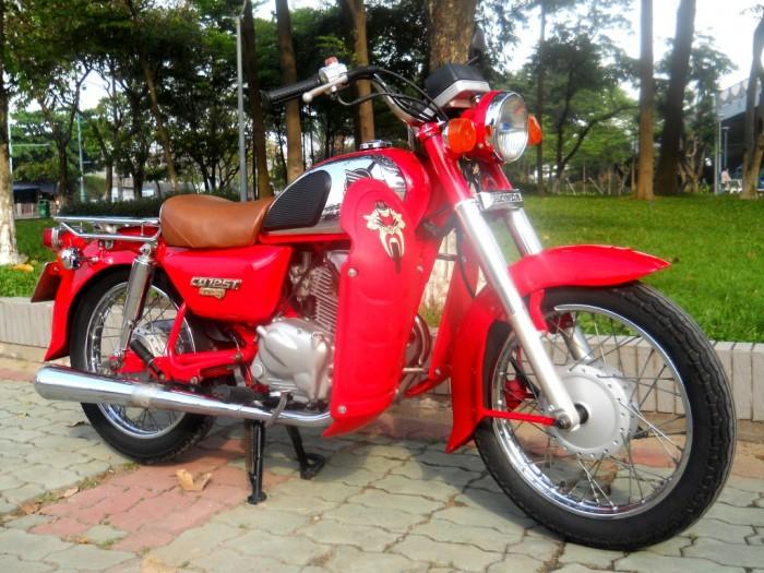 Bán Xe CD125 Benly Màu Đỏ - bửng Đỏ 1997 Hàng Hiếm Giá 59tr