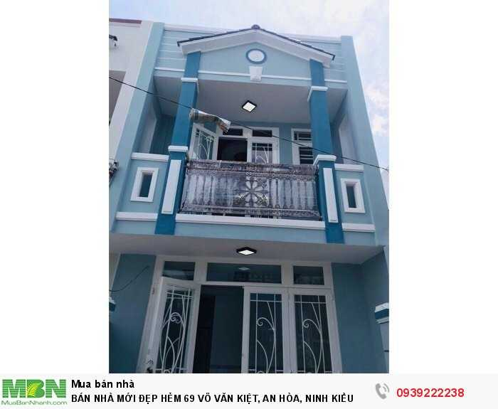 Bán Nhà Mới Đẹp Hẻm 69 Võ Văn Kiệt, An Hòa, Ninh Kiều