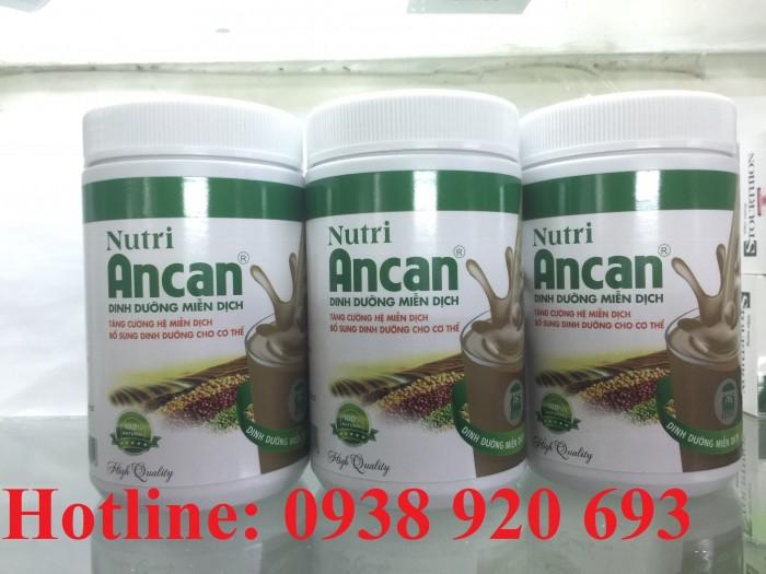 Nutri Ancan giúp bổ sung dinh dưỡng, tăng cường hệ miễn dịch cho cơ thể Thực phẩm bảo vệ sức khỏe Liên hệ 0938 920 693 để được đặt hàng và giao hàng trên toàn quốc0