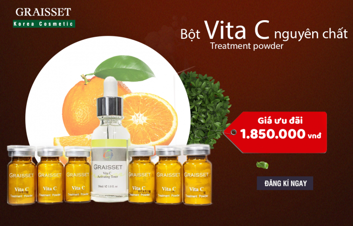 Vita C Treatment Powder - Bột Vita C Nguyên Chất!0