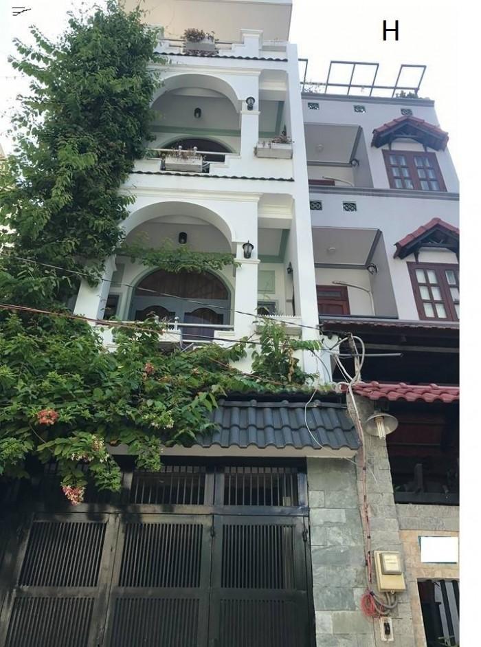 Giảm giá shock, xe hơi đậu trong nhà, đường Hồng Lạc, 166m, 11PN