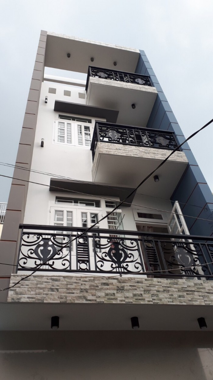 Bán nhà 4 tấm, DT 3,2x15m đường Bình Thành, nhà mới đẹp