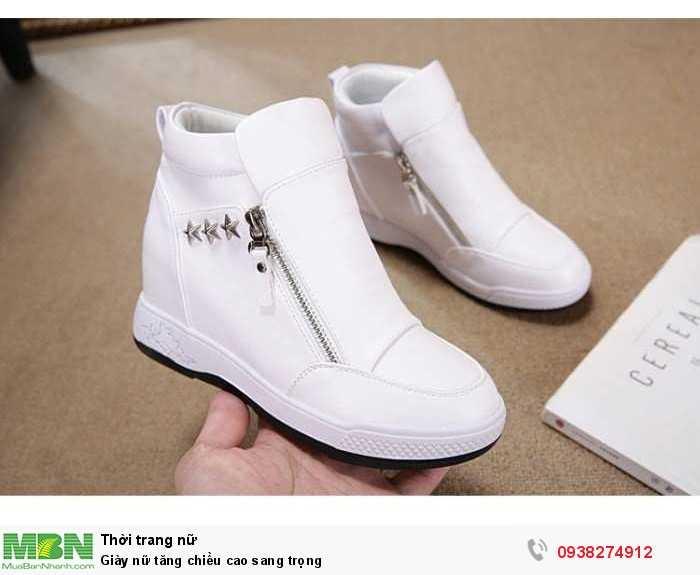 Giày nữ tăng chiều cao sang trọng0