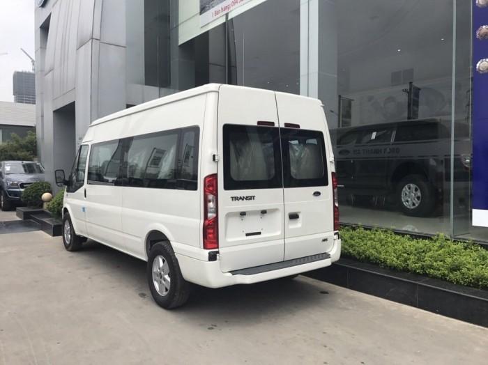 Giá xe Ford Transit Luxury 16 chổ 2019, trả trước 250 triệu có xe giao ngay tại Ford Gia Định