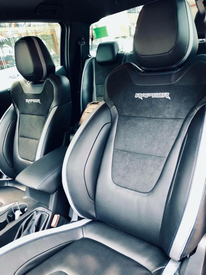 [4] Ford Ranger Raptor 2019, màu xanh dương, trả trước 300 triệu có xe giao ngay tại Gia Định Ford