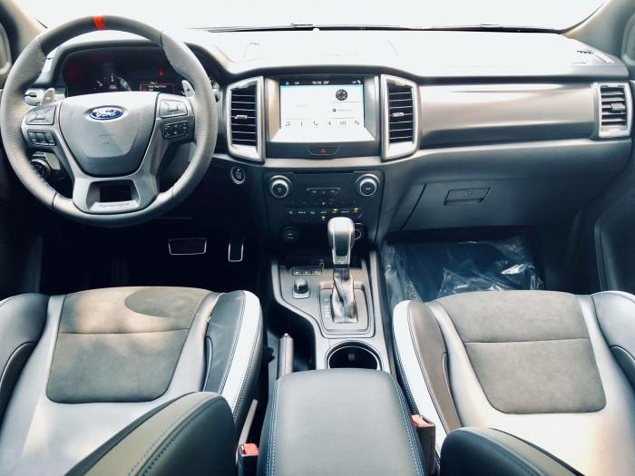 [8] Ford Ranger Raptor 2019, màu xanh dương, trả trước 300 triệu có xe giao ngay tại Gia Định Ford