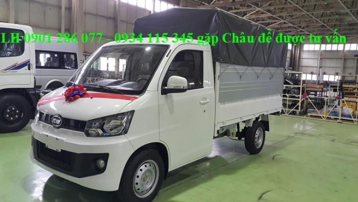 Xe tải Veam Pro 990 kg 2018 ^  thùng dài 2m7 ^ rộng  rãi ^ giá hợp lý ^ đại lý xe tải veam 4
