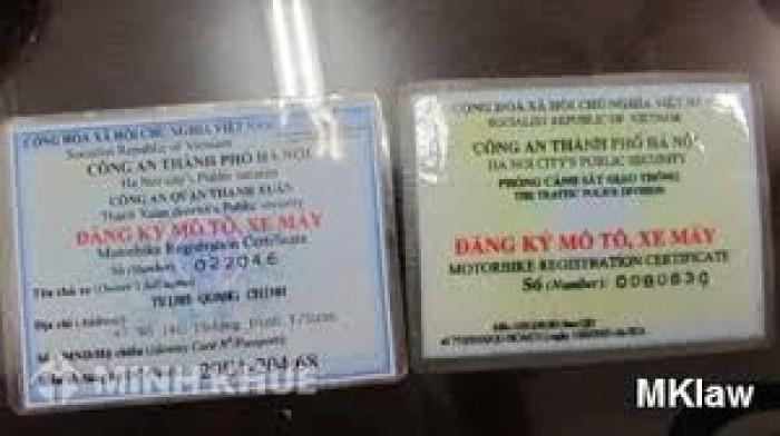 Bạn phải làm gì khi bị mất giấy tờ xe tại Hà Nội?