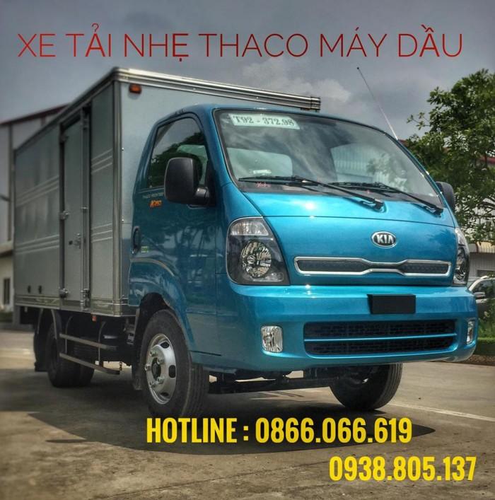 Bán xe tải k200 tải trọng thấp để vào phố phù hợp cho khách hàng là công ty 0