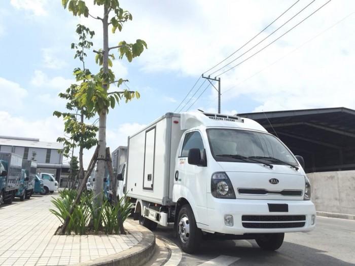 Bán xe tải đông lạnh 1T-2T Nhiệt độ giảm -15 đến -18 Độ C