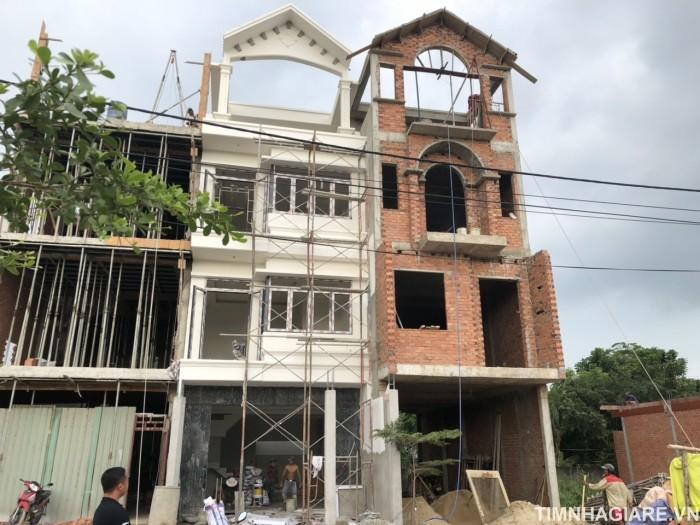 Bán nhà đường Đào Tông Nguyên, Khu cafe Omely, Phú Xuân, Nhà Bè. DT 80m2, 3 lầu đúc, sân thượng