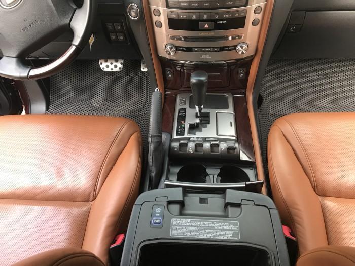 Bán Lexus LX570 màu đỏ mận , nội thất nâu, xe sản xuất và đăng ký 2014 một chủ đi từ đầu