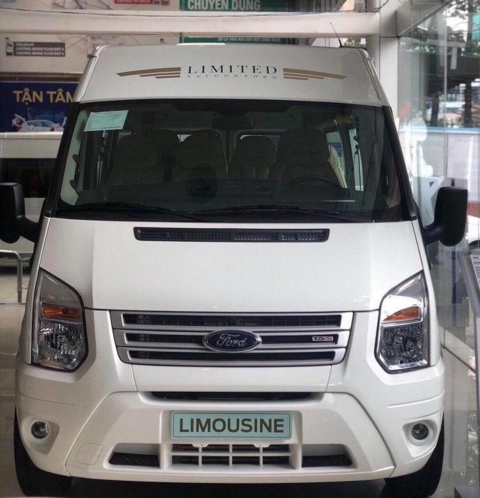 Ford Transit Luxury Limited 2019, trả trước 250 triệu, có xe giao ngay tại Ford Gia Định 0