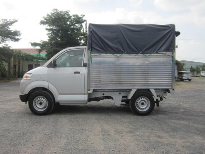 Suzuki Pro 750 kg nhập khẩu, thùng lửng, mui bạt, mui kín giao xe ngày