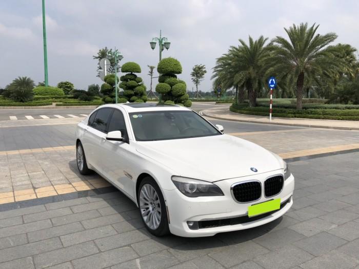 Cần bán Bmw 750Li sx 2011 màu trắng tinh. nhập khẩu, đập thùng 1 đời chủ