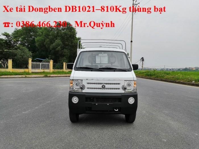Bán Xe Tải Nhẹ Dongben 810kg Thùng Bạt - Gía Tốt.