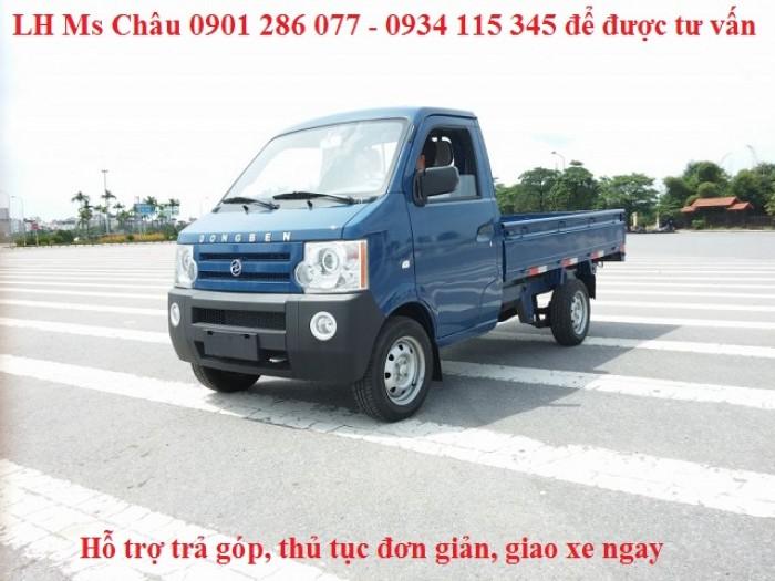 Bán xe tải Dong ben 870kg thùng lửng / nhỏ gon, băt mắt / giá thành hợp lý 3