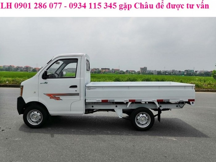 Bán xe tải Dong ben 870kg thùng lửng / nhỏ gon, băt mắt / giá thành hợp lý 2