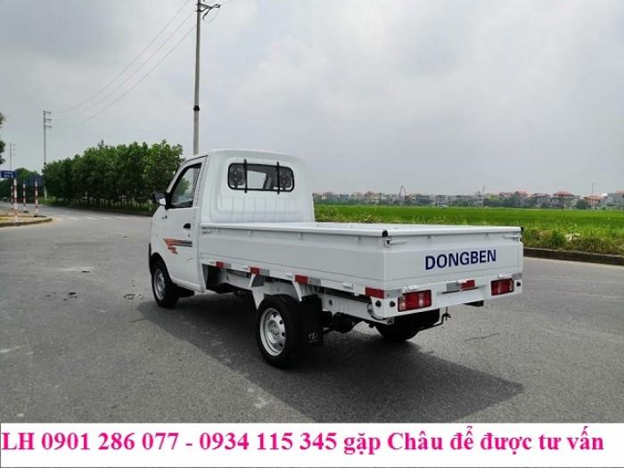 Bán xe tải Dong ben 870kg thùng lửng / nhỏ gon, băt mắt / giá thành hợp lý 1