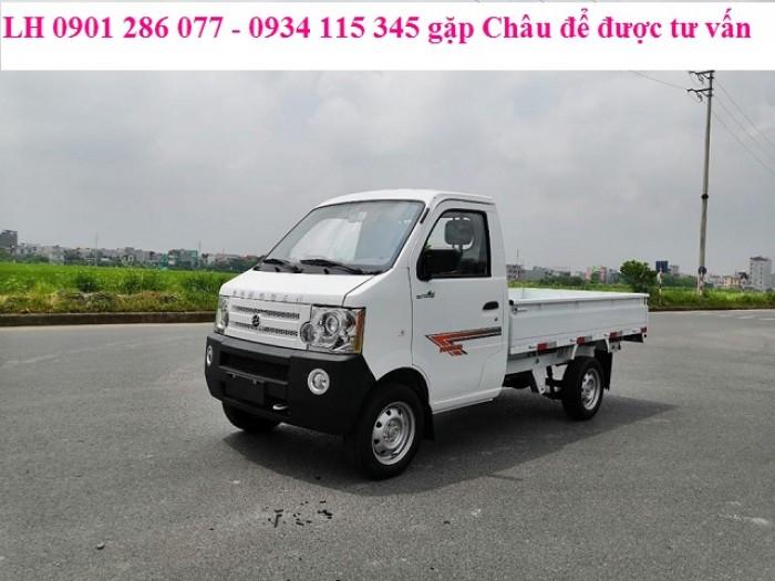 Bán xe tải Dong ben 870kg thùng lửng / nhỏ gon, băt mắt / giá thành hợp lý 0