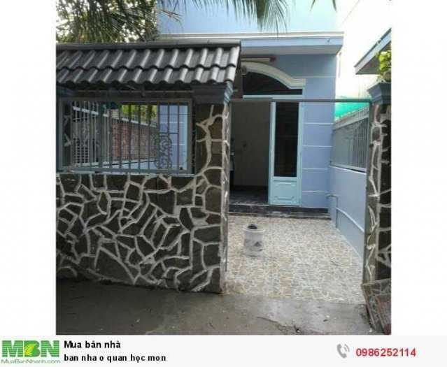 Cần bán nhà ở quận Hóc Môn