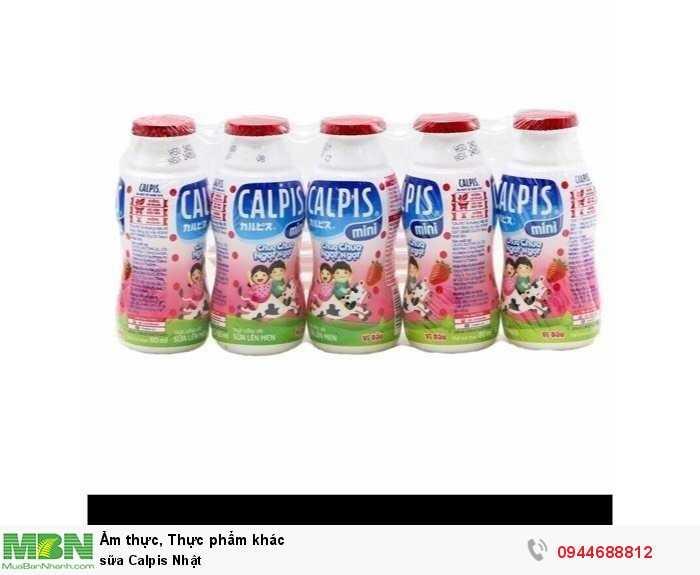 Sữa Calpis Nhật0