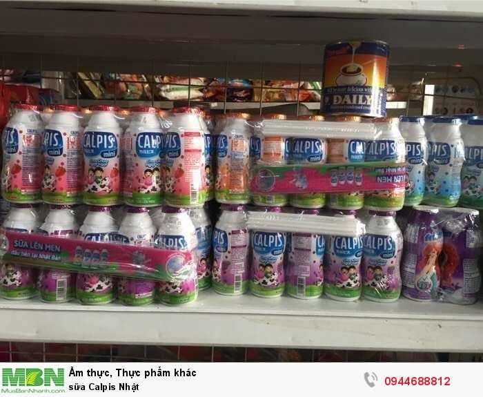 Sữa Calpis Nhật1