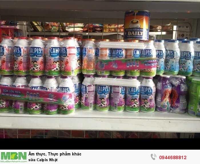Sữa Calpis Nhật2