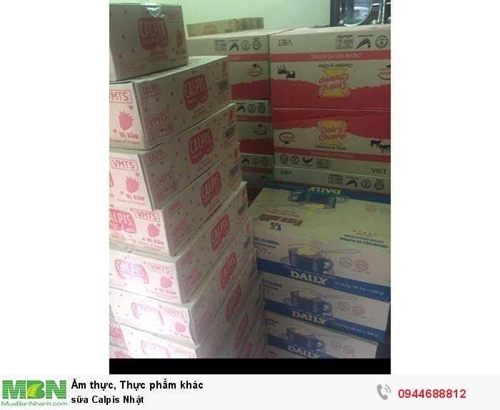 Sữa Calpis Nhật3
